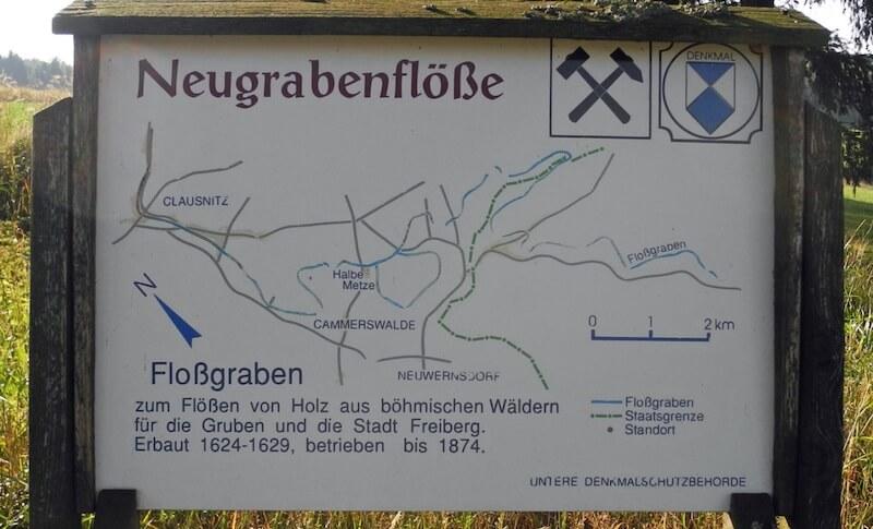 """Naučná stezka """"Auf dem Holzweg"""" neboli """"Na dřevěné cestě"""""""